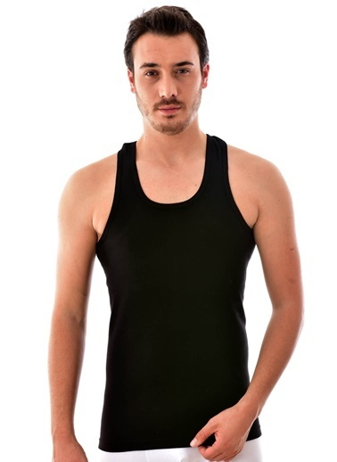 Pemilo 3 Adet Erkek Tutku 0118 Spor Atlet SİYAH Siyah